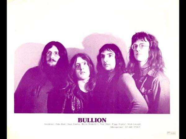 Bullion (UK) - 70s hard prog