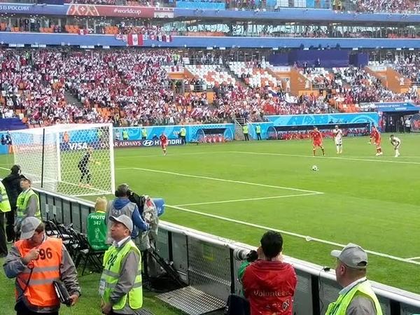 Peru-Denmark (Christian Cueva misses penalty)