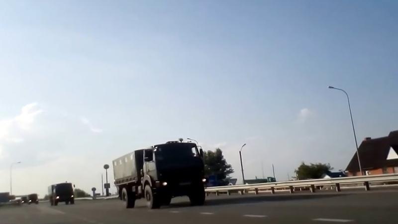 ВСУ подвозят боеприпасы к линии фронта в Донбассе   5 ноября   Вечер   СОБЫТИЯ ДНЯ   ФАН-ТВ