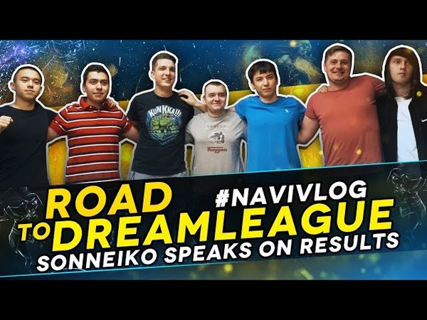 NAVIVLOG: Road to DreamLeague S10. SoNNeikO speaks on results
