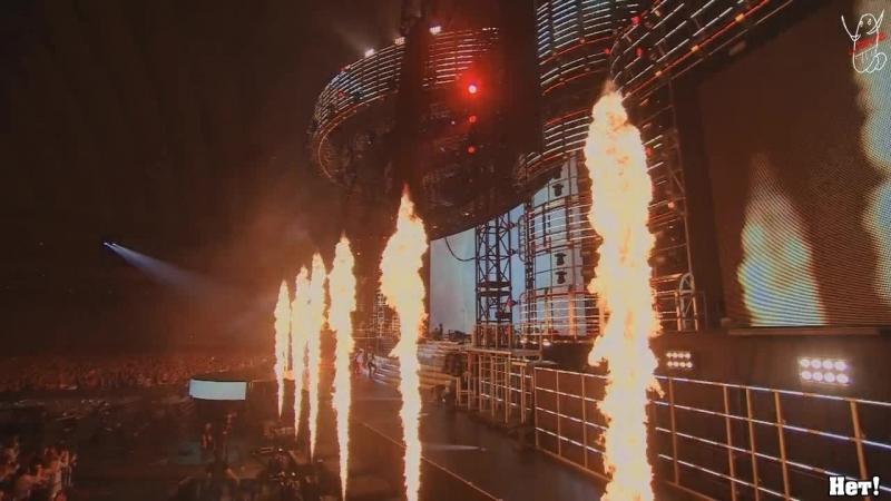 Tohoshinki - Rising Sun (live tour 2015 WITH) рус саб DBSK TVXQ