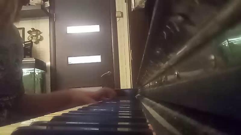 Shape of you на пианино