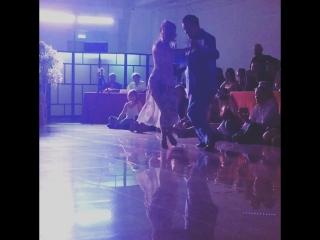 Momentos 3, 2/5  Mariano Chicho Frumboli  with Carolina Giannini  -Catania Tango Weekend- 29-30.06.2018 Night Milonga