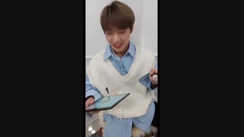 Wanna One Jihoon (박지훈) Instagram Live [190110]_1.mp4