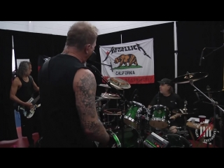 Metallica: tuning room (helsinki, finland - may 11, 2018)