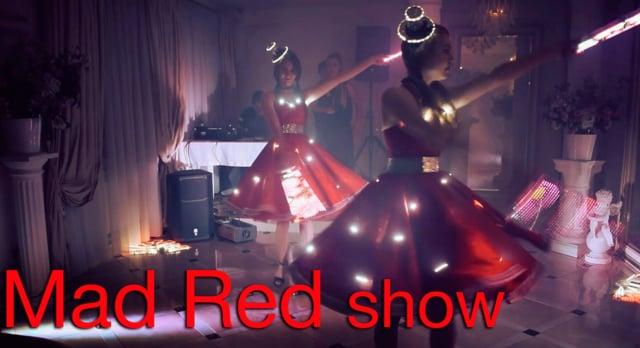 Световое шоу Mad Red на праздник | Ростов | GOF show
