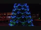 Новогодняя ёлочка на площади Ленина
