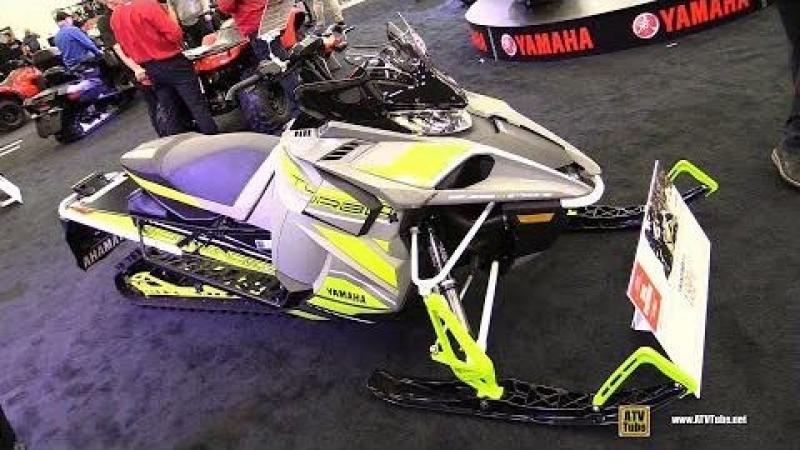2018 Yamaha Sidewinder X-TX 151 Sled - Walkaround - 2017 Drummondville ATV Show