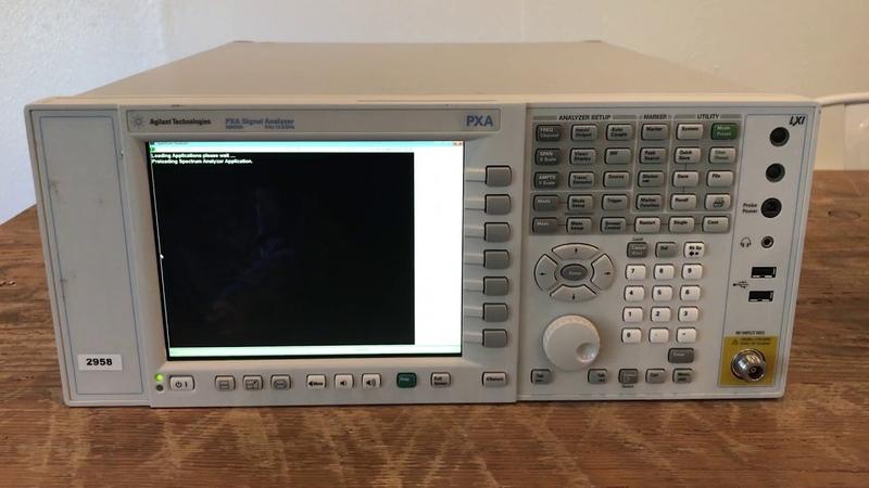 Agilent N9030A Vector Signal Analyzer, 3 Hz to 13.6 GHz (A 39513)