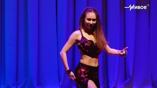 Алина Анжина - Colors of life (by Artem Uzunov) bellydance drum/tabla solo