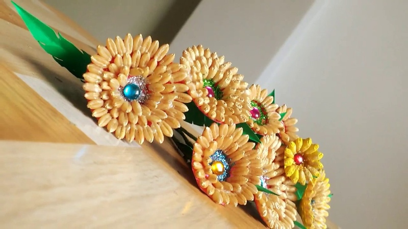 DIY Craft How To Make Flowers Handcrafted Flowers For Home Decor Tutorial By Punekar Sneha