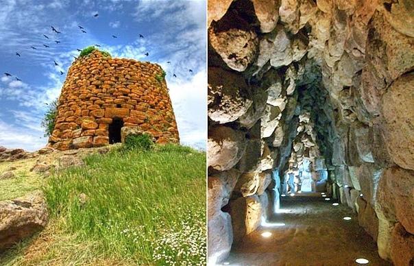 Нураги, гробницы гигантов и соборы Загадочные и величественные мегалитические постройки напоминают о нурагической цивилизации (1800 – 500 гг. до н. э.). Кто их создал – до сих пор неизвестно.