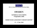 OSCE - staten säkrar sitt valfusk med lögner till Thomas Rymer