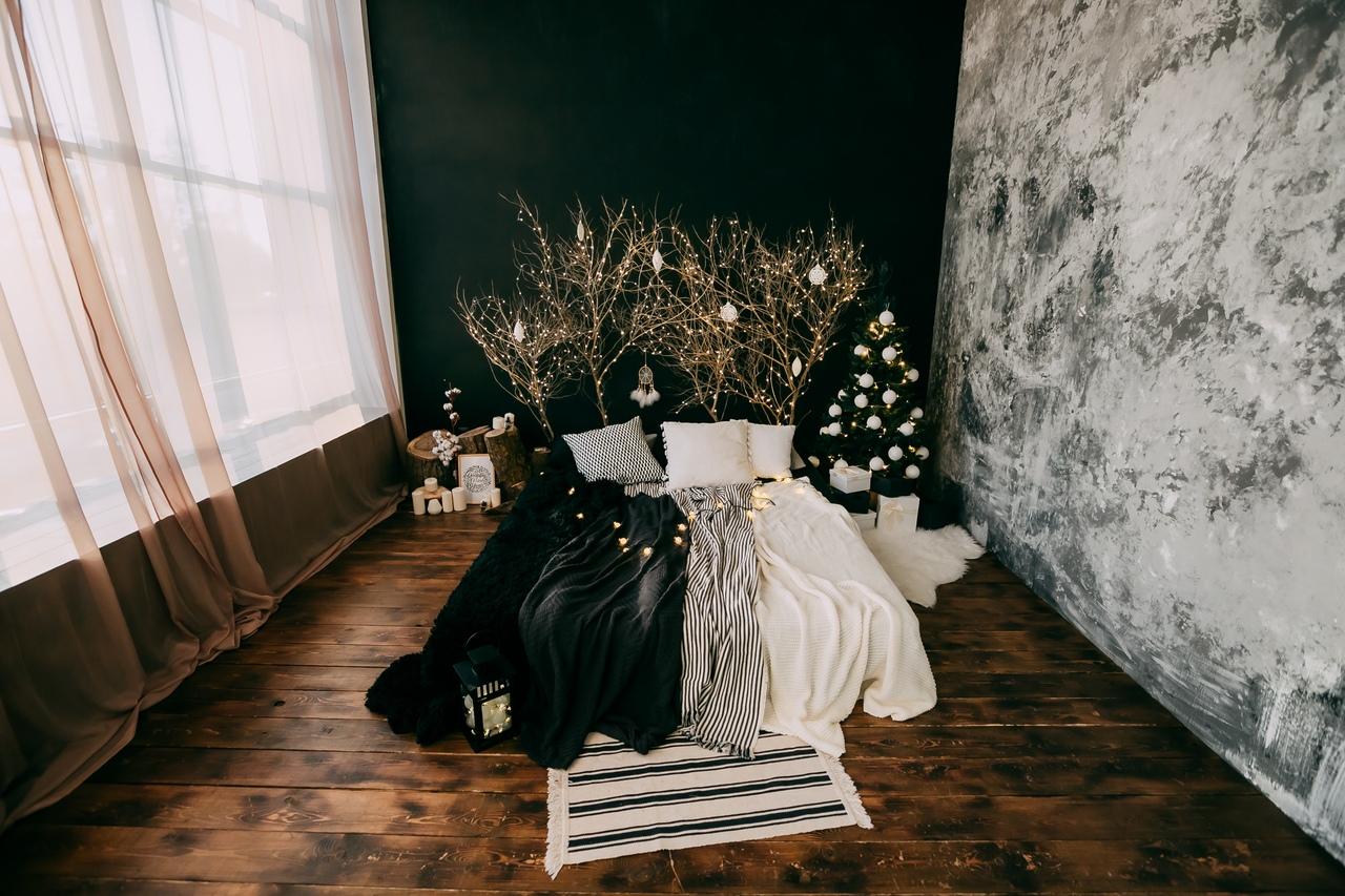 русь фотостудия с белой кроватью вам потом
