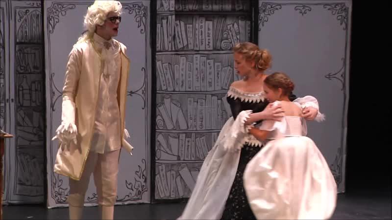 АРХИВ ЛОМОНОСОВА. NucKids. Отрывок из мюзикла Свиток Ломоносова. (3 сцена)