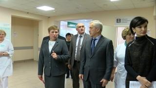 Евгений Савченко проверил алексеевскую и красненскую медицину