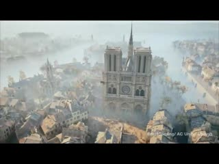 Assassin's Creed Unity' art historian's laser scans may prove critical to NotreDame restoration - - @Ubisoft - -