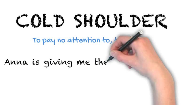 Cold Shoulder _ Ask Linda! _ Idioms