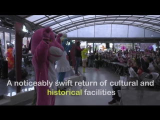 Syria's post war reconstruction, festivals and the reopening of tourism.