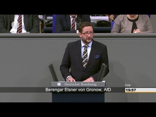 Bérenger Elsner von Gronow AfD Nein, Söldner brauchen wir nicht in der Bundeswehr 13.12.2018