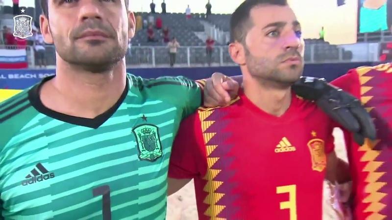 Resumen Egipto 7 6 España Copa Intercontinental de fútbol playa