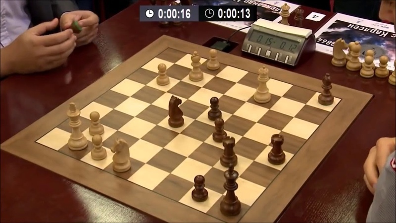 GM Morozevich vs GM Carlsen BLITZ ENDGAME Tal Memorial 2013