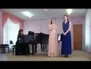Д. Соломатина, Д. Наумкина - дуэт Ольги и Татьяна из оперы Евгений Онегин