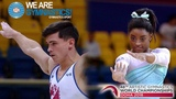 2018 Artistic Worlds Biles and Dalaloyan, on top of the World We are Gymnastics !