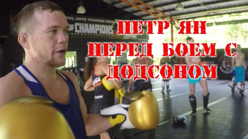 Петр ЯН VS Джон Додсон Подготовка к UFC Fight Night в Праге