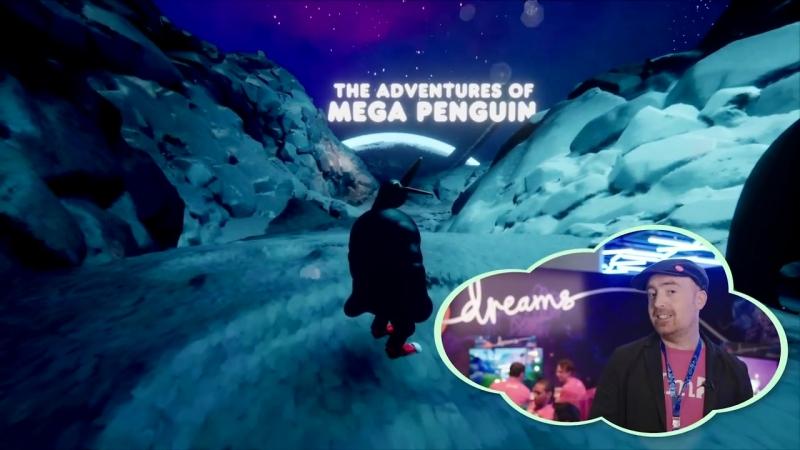 Dreams _ E3 2018 Game Jam_ Mega Penguin _ PS4