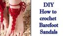 Украшение для ног крючком МК Crochet Jewelry