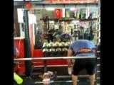 Захир Худояров - тяга 350 кг