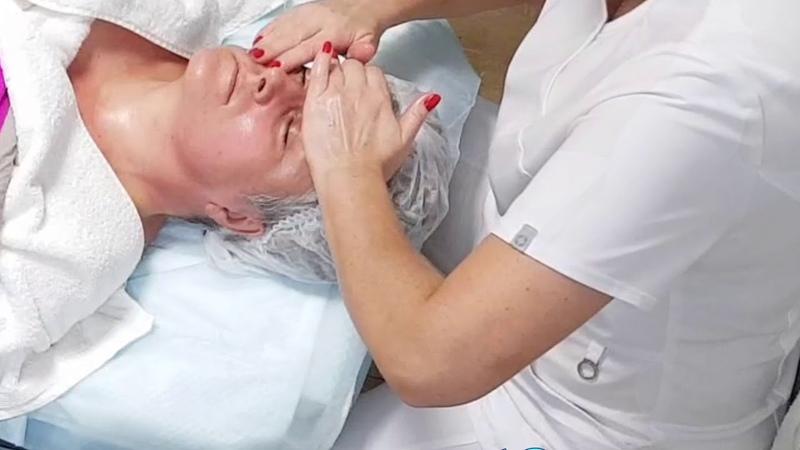 Скульптурный массаж косметолога Ольги Лебедевой