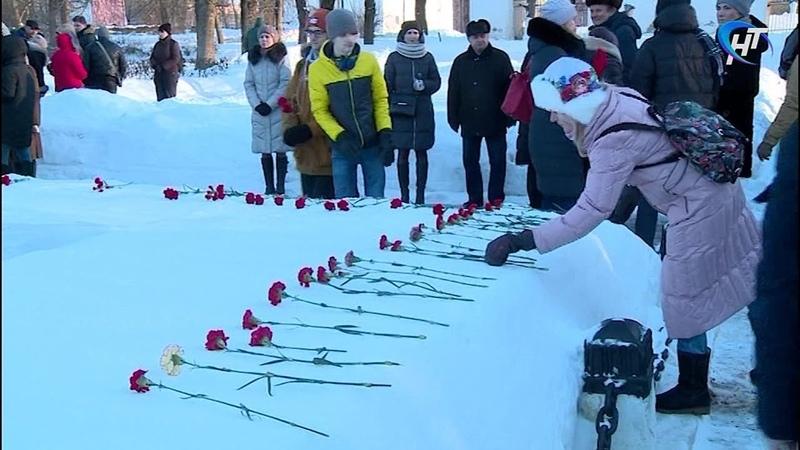 В преддверии Дня освобождения в Великом Новгороде прошли торжественные митинги