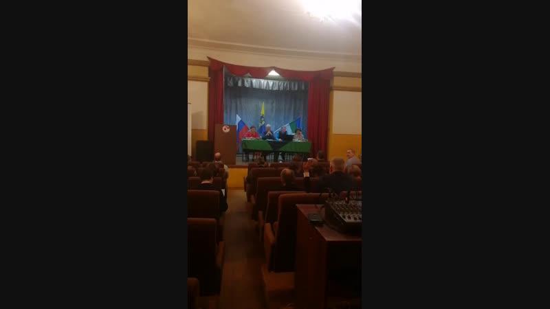Межрегиональная конференция в п. Урдома. 4 часть.