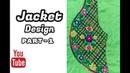 Hand Embroidery Jacket Design Dorri stitch Cut stitch Part 1