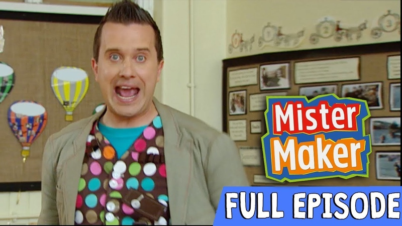 Super Scrunched Up Make | Episode 3 | Full Episode | Mister Maker Comes To Town