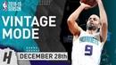 Tony Parker Takes Over 4th Qtr Nets vs Hornets December 28 2018 2018 19 NBA Season