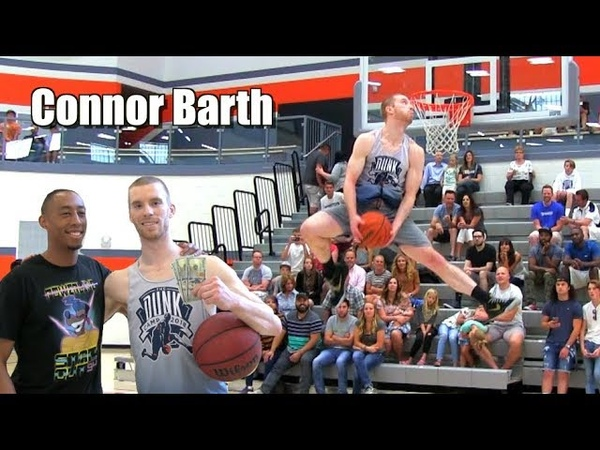 SICK New Dunker! Connor Barth Dunk Camp Highlights