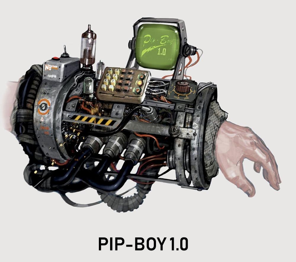 Развитие Pip-Boy Fallout