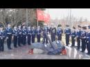 ККК у памятника Краснознамённой Онежской Военной Флотилии 07.05.18