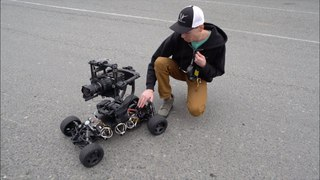 Huge RC Car with Camera Stabilizer - RCTESTFLIGHT -