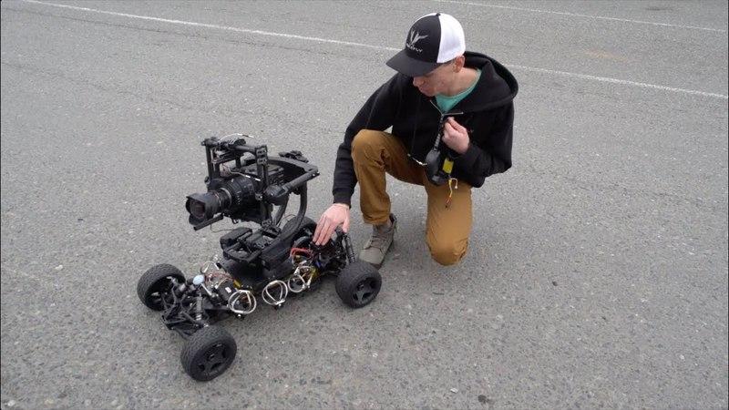 Huge RC Car with Camera Stabilizer - RCTESTFLIGHT -
