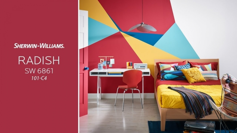 Sherwin-Williams   Color of the Month- Radish SW 6861