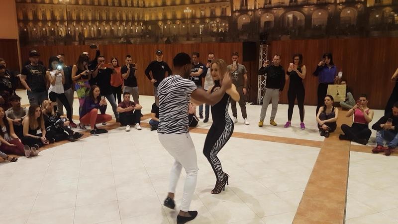 Ronald y Alba Gold en Salamanca Bachata Festival 2018