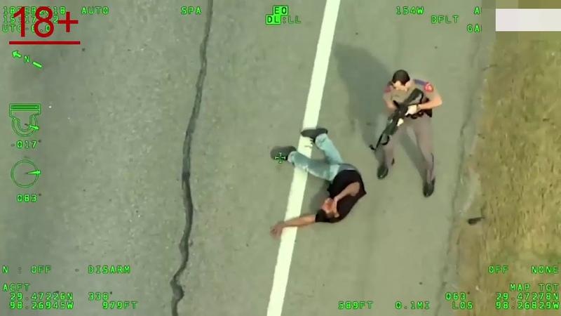 Перестрелка полицейского с преследуемого 18 Police USA
