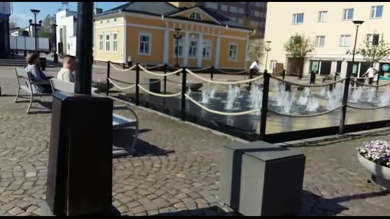 Центральная площадь Kajaani