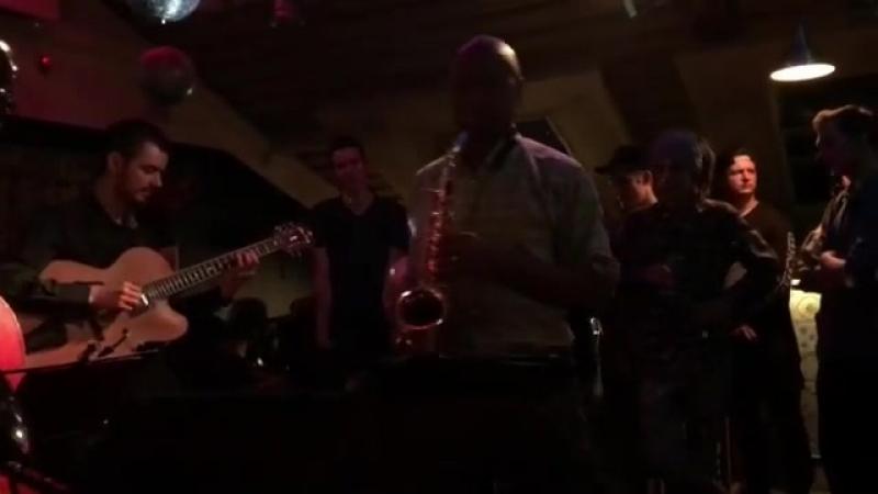 Branford Marsalis на джеме в New Bar (г.Екатеринбург)