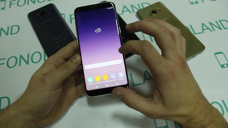 [FONOLAND24] Точная копия/реплика Samsung Galaxy S8/Samsung Galaxy S8 Plus на базе процессора MTK (6582, 6595)