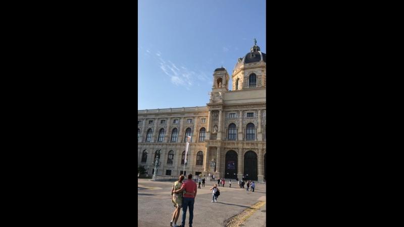 Вена. Австрия, Мария-Терезия плац